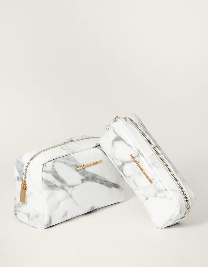 Neceser print marmol