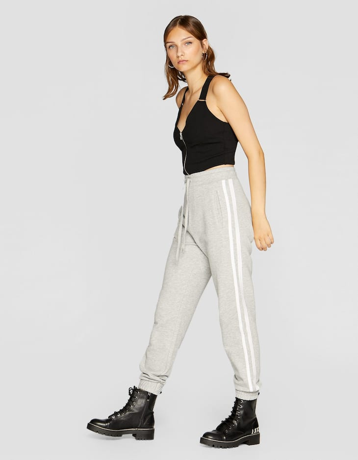 Παντελόνι jogger φλις