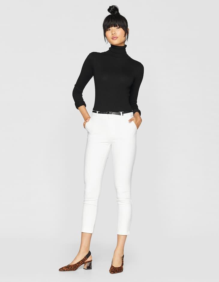 Elegante Hose mit Gürtel