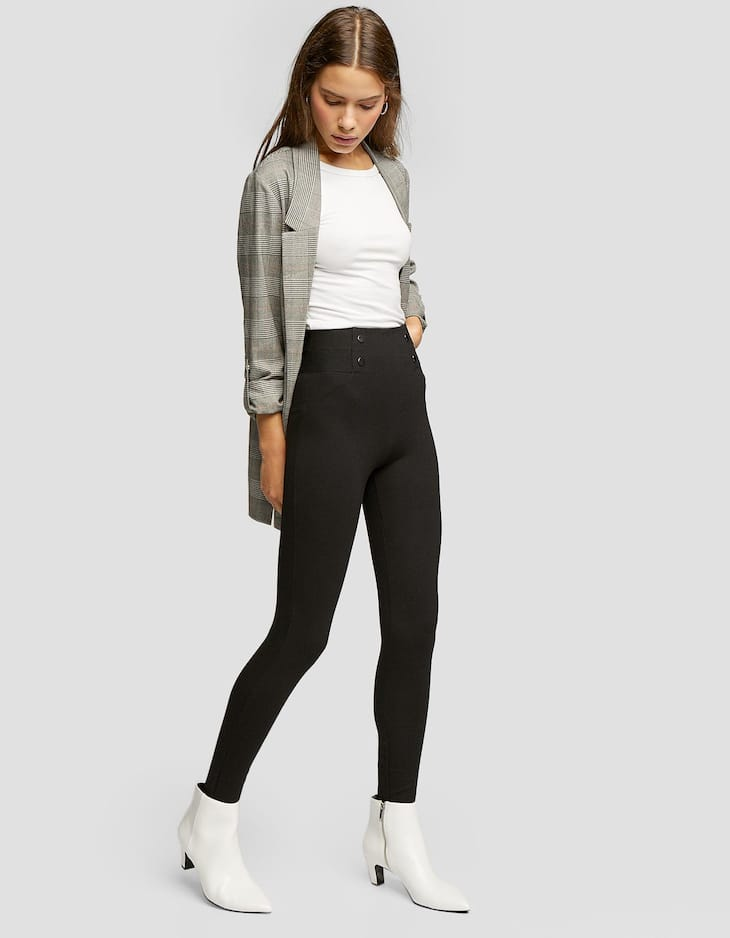 Legging cintura elástica