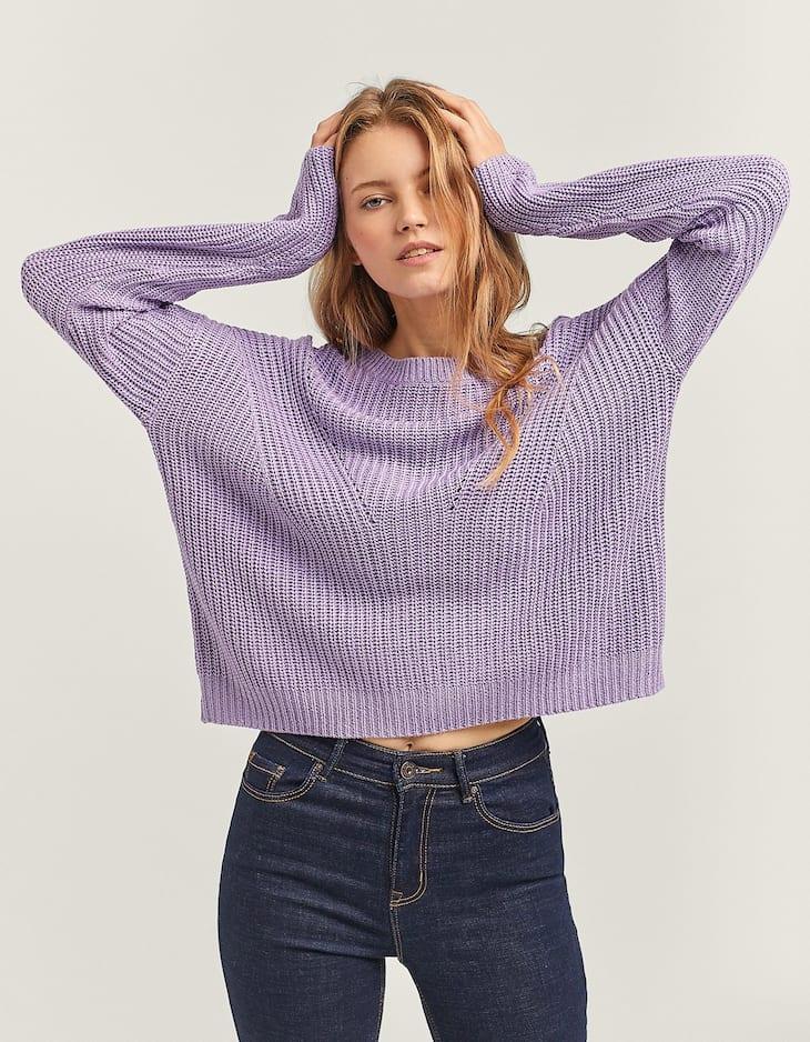 Sweater com fita