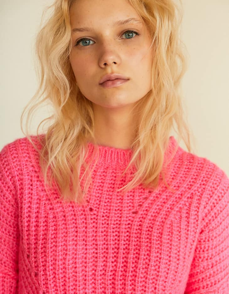 Cosy cropped sweater