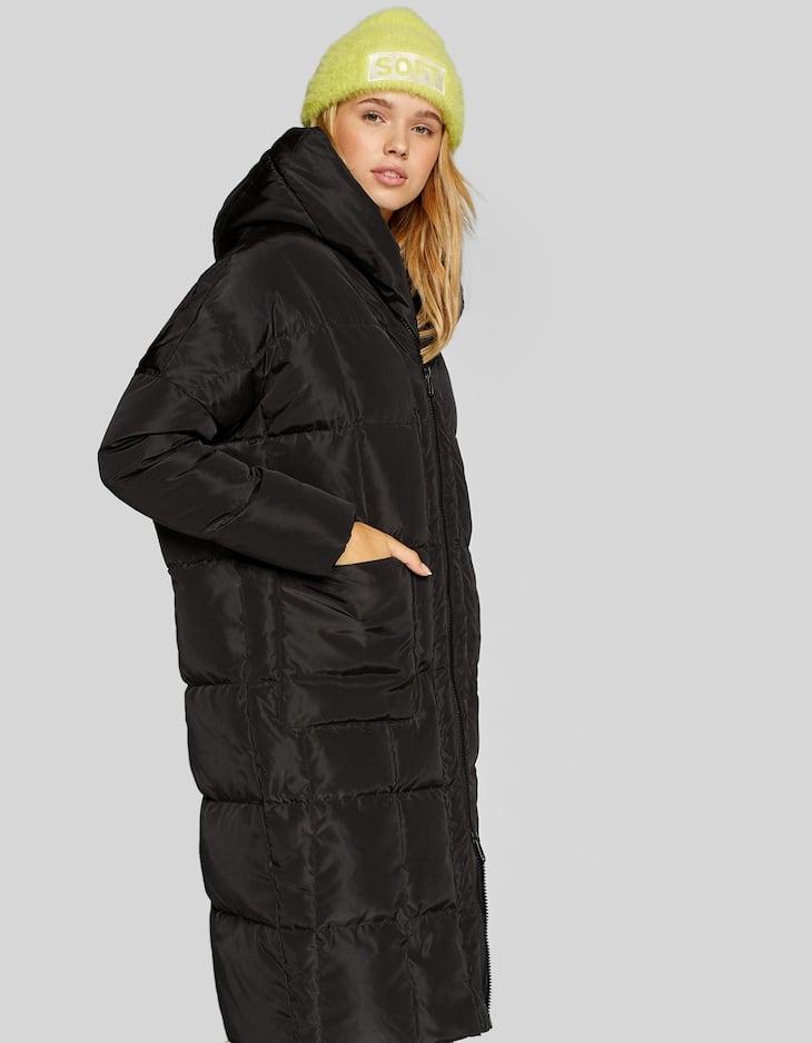 Oversize down puffer coat