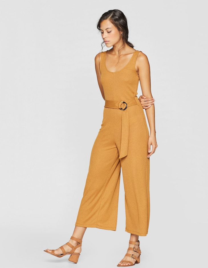Jumpsuit met ring