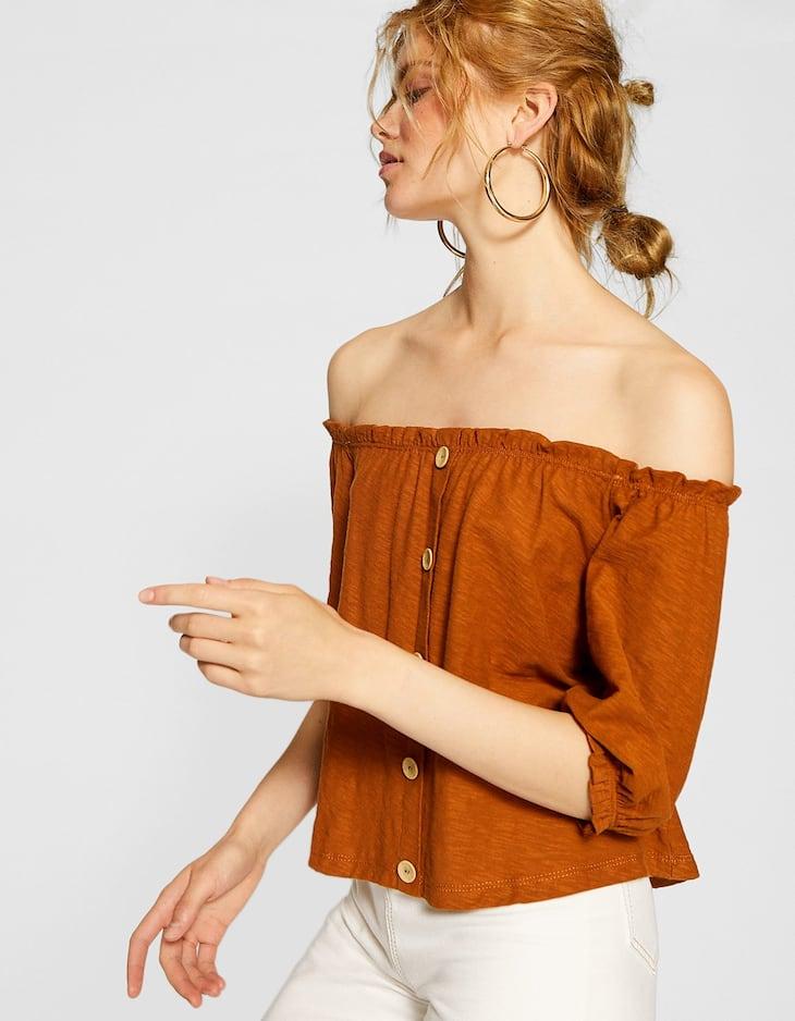 Bluzka w rustykalnym stylu