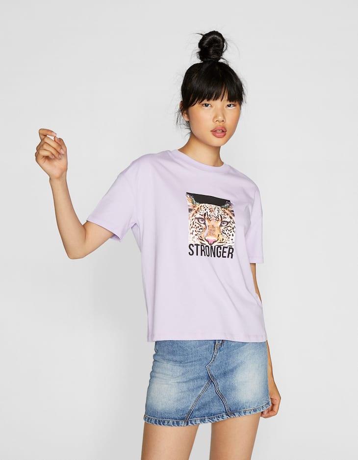 Camiseta print joya