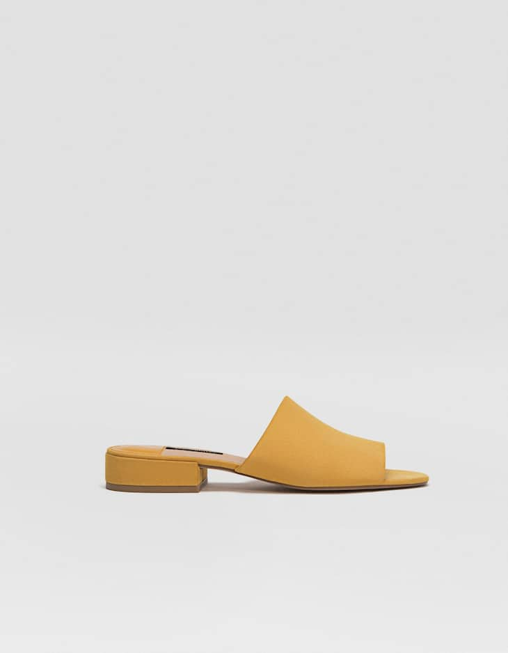 Mustard yellow slides