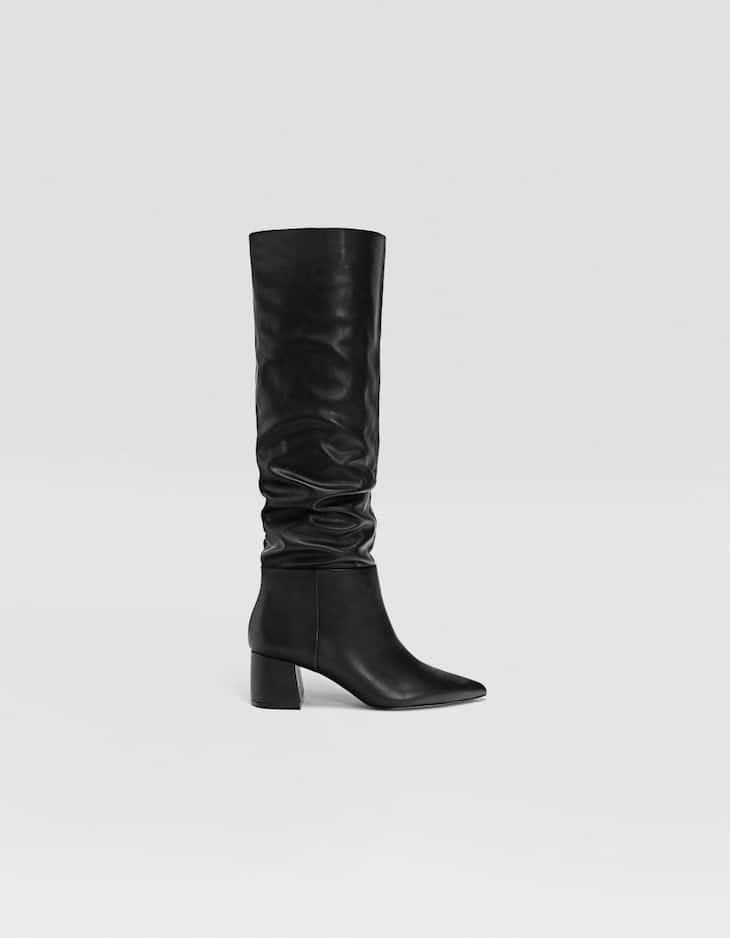 High heel over-the-knee boots