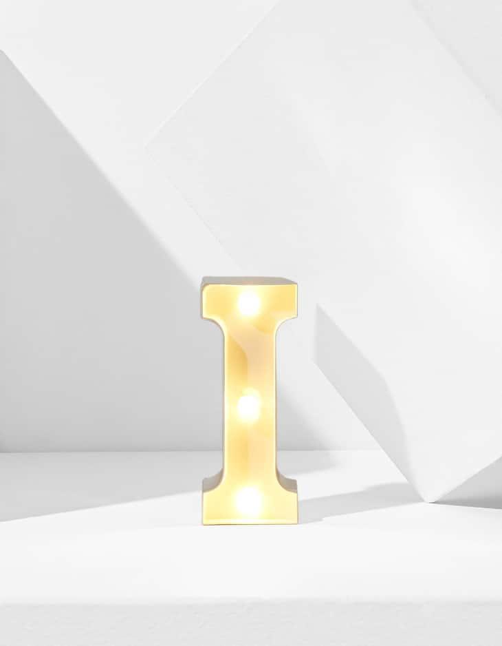 Small LED letter I