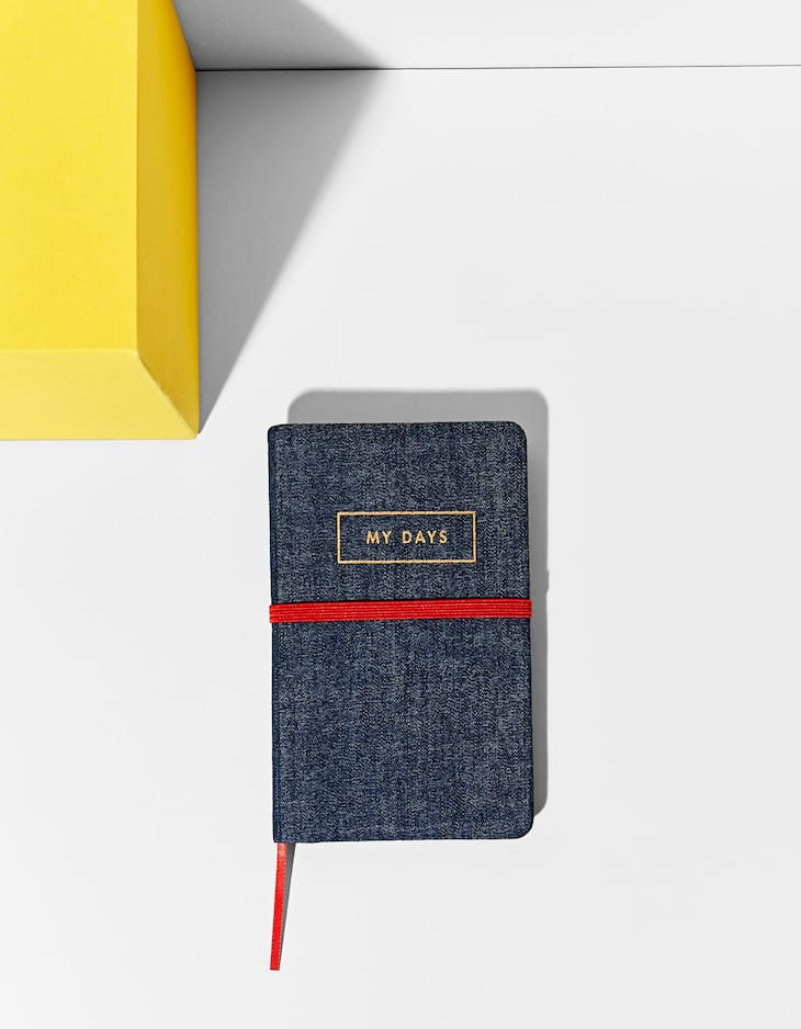 Small denim notebook