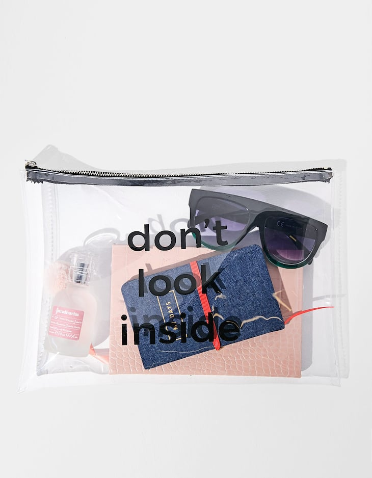Don't look inside folder