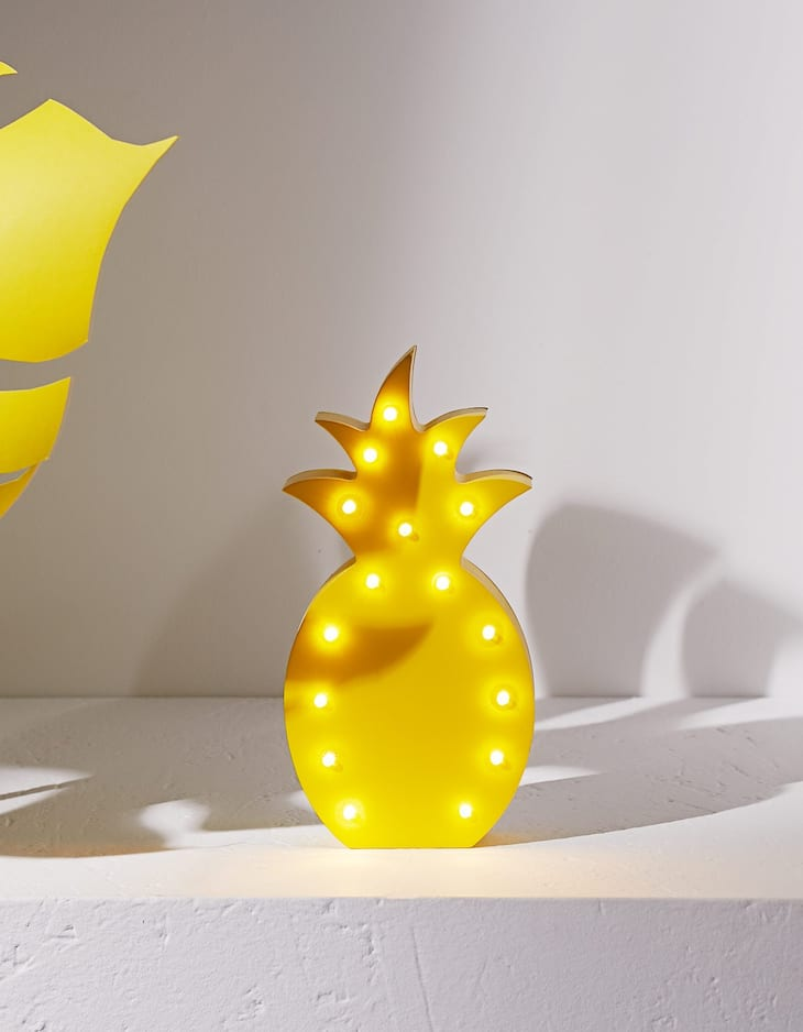 Pineapple with lights