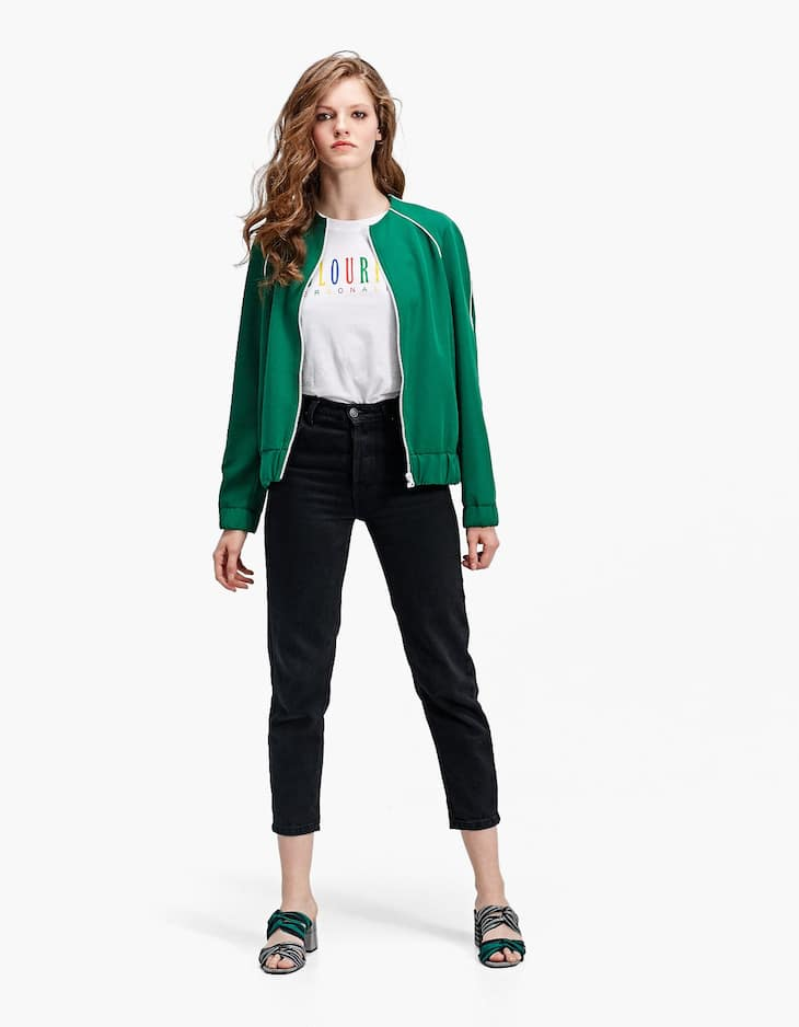 Zip Up Sports Jacket