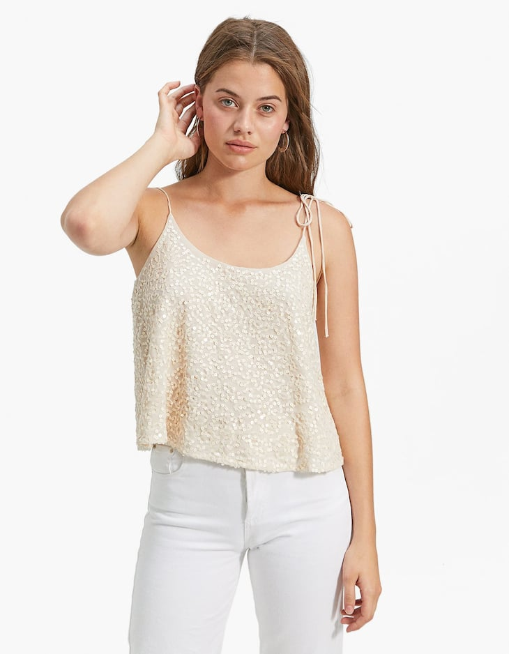 Sequin top