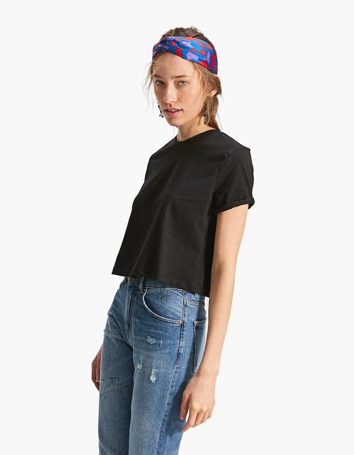 Camiseta crop