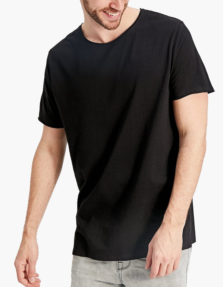Short sleeve round neck T-shirt