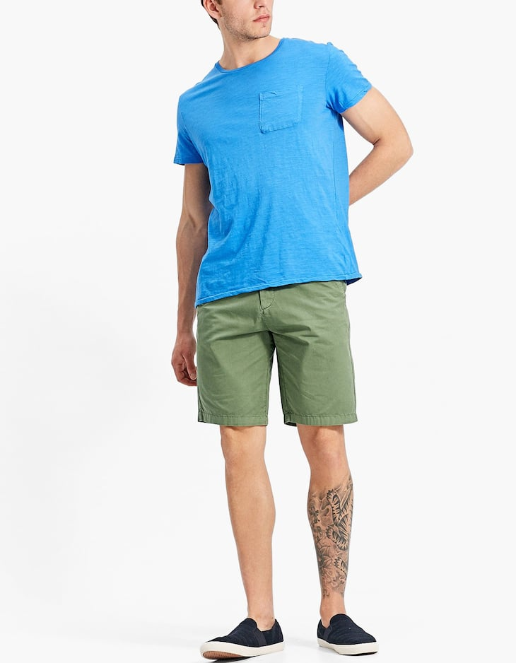 Basic T-shirt with pocket