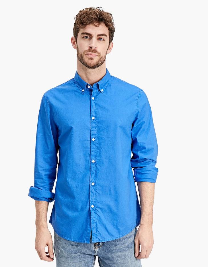 Chemise teintée
