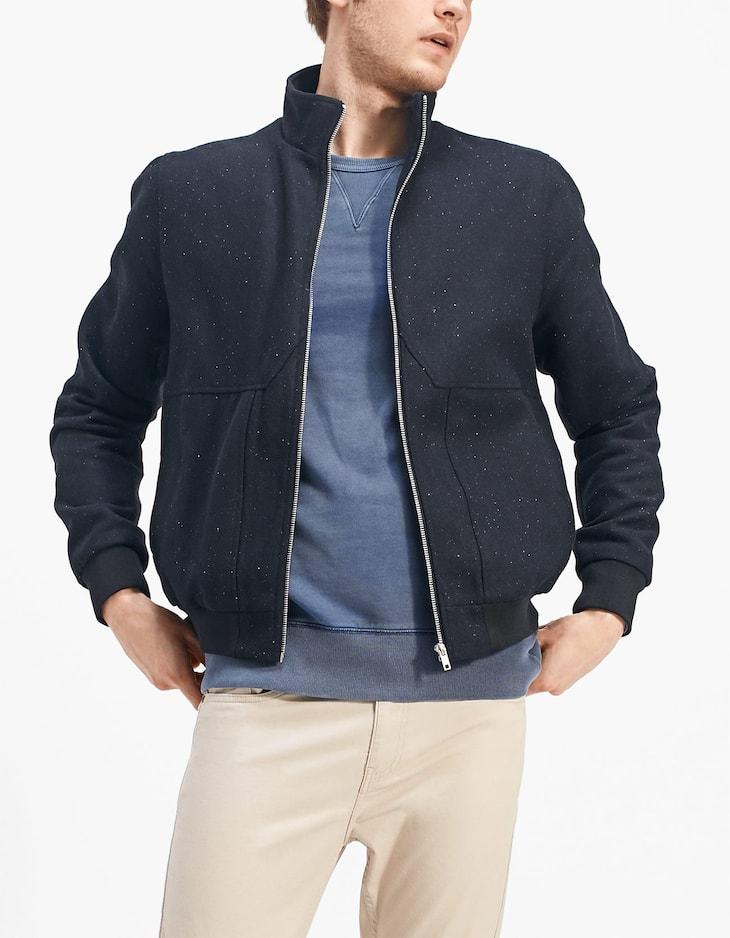 Napped Harrington jacket