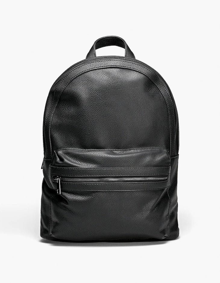 Basic PU backpack
