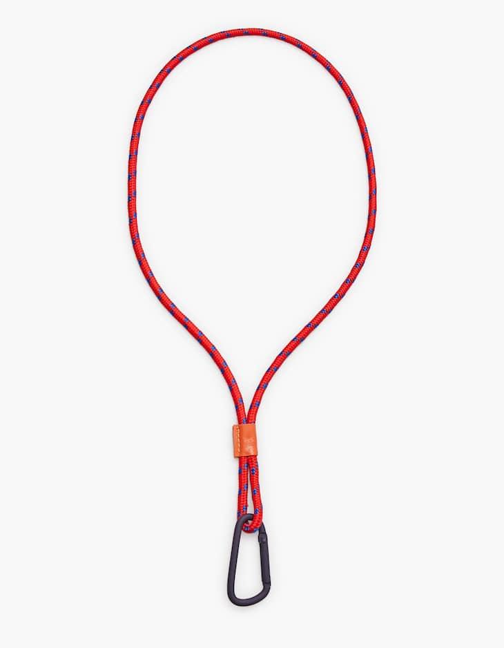 Long cord keyring