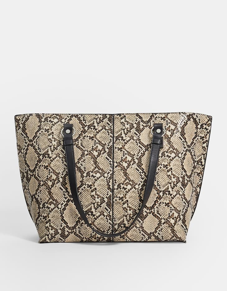 Shopper com efeito serpente