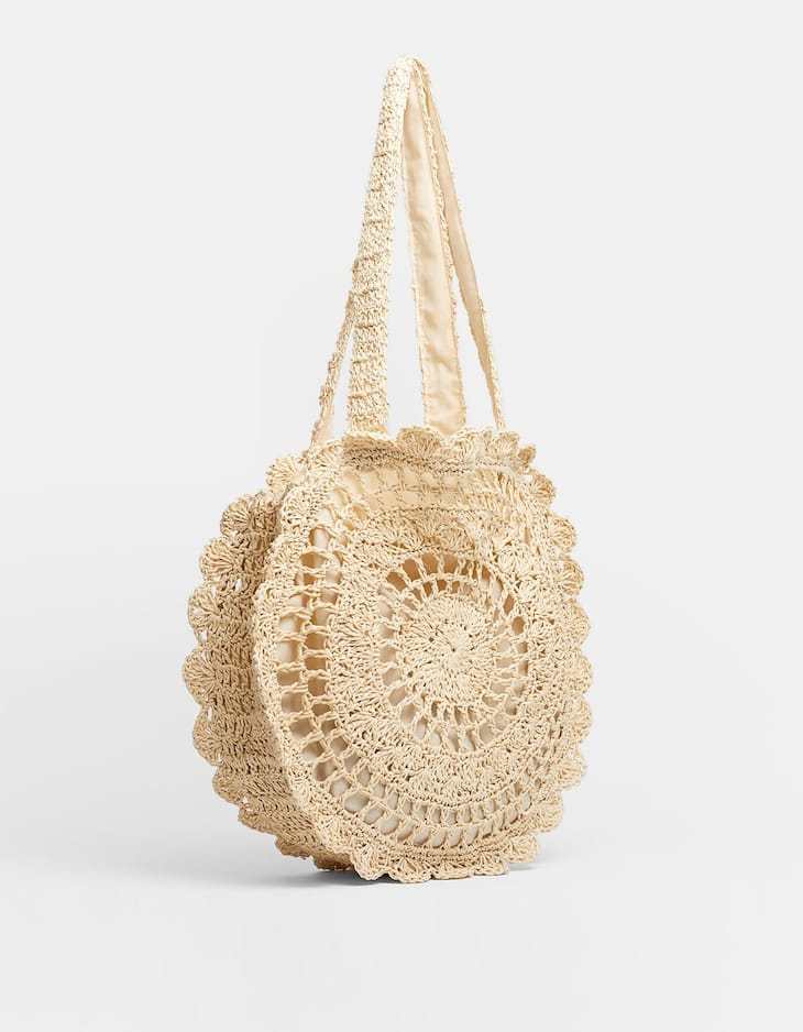 Shopper crochette