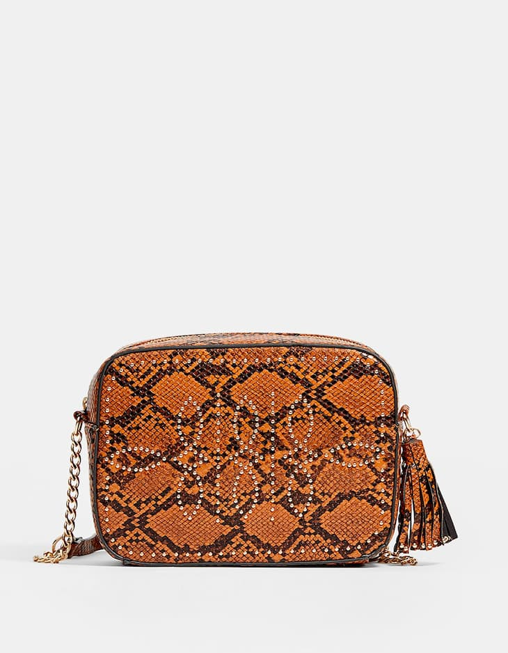 a346bfe7e4 Studded crossbody bag - Purses and toiletry bags