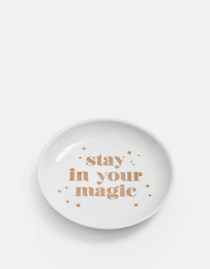 Piattino 'magic'