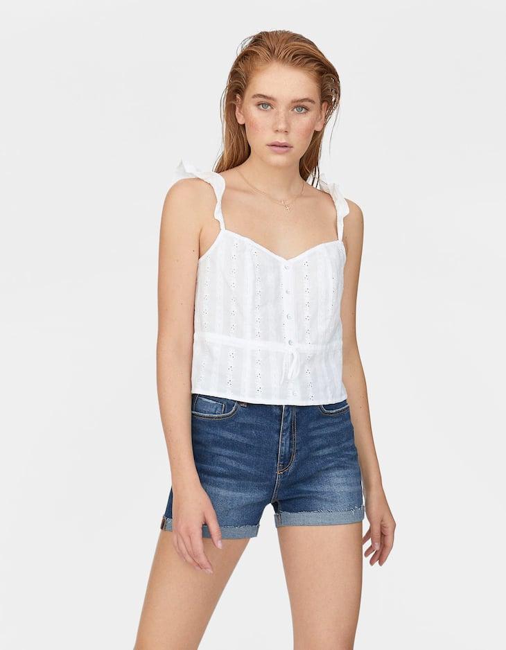 Super high waist shorts
