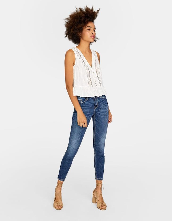 Skinny-Jeanshose