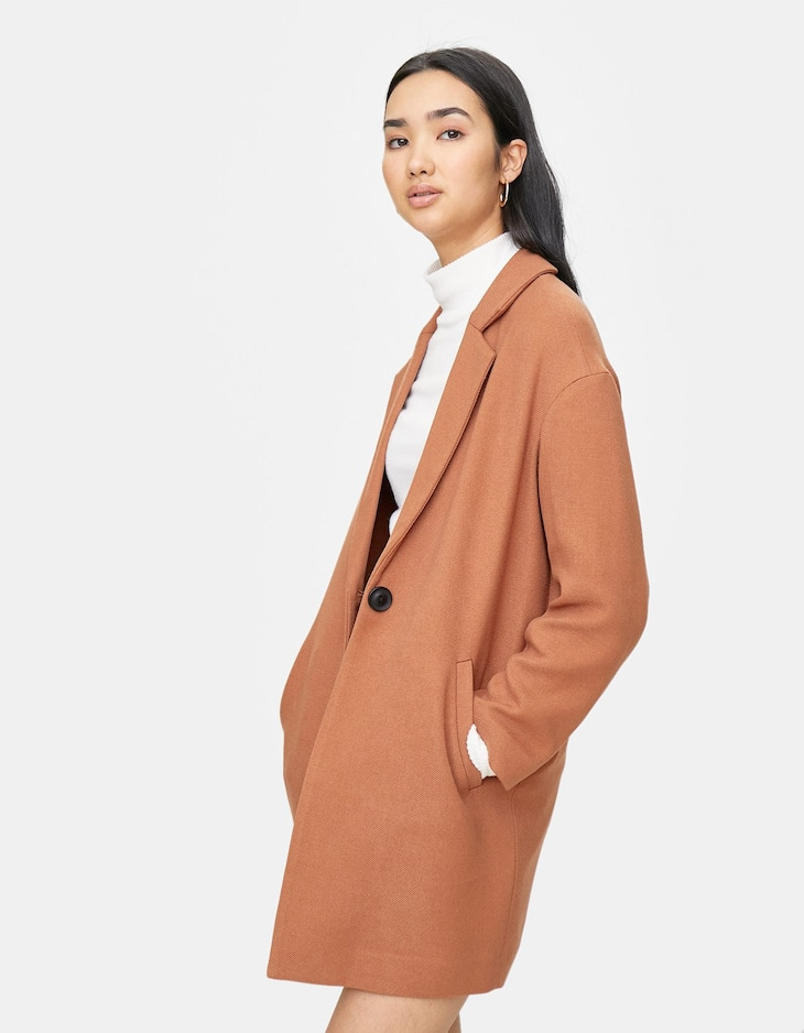 Drop sleeve coat