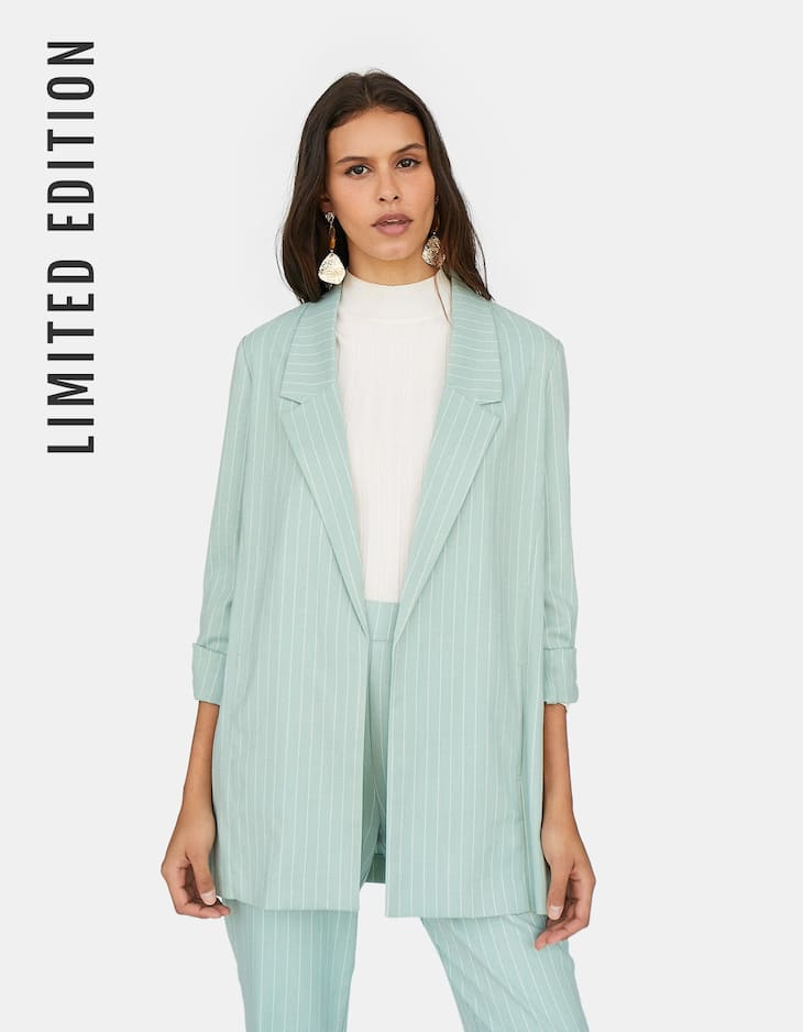 Limited Edition loose-fitting blazer