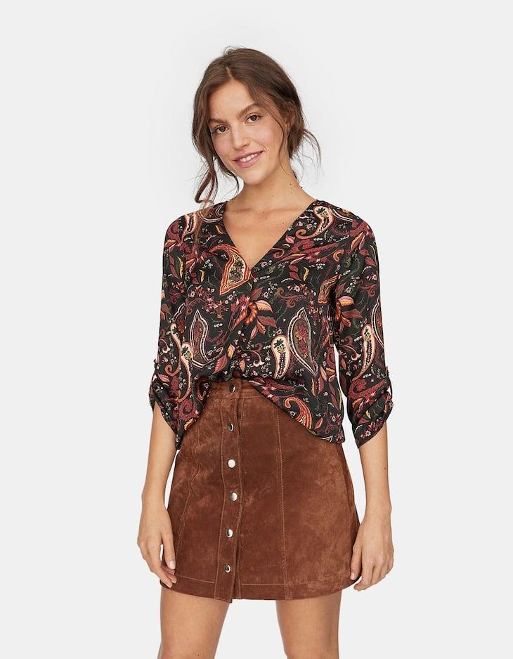 Chemises pour femme   Stradivarius France c214725669cd