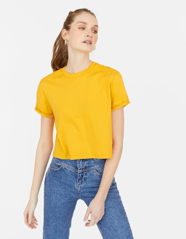 Cropped T-shirt