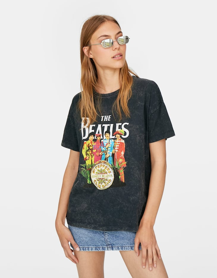 The Beatles music t-shirt
