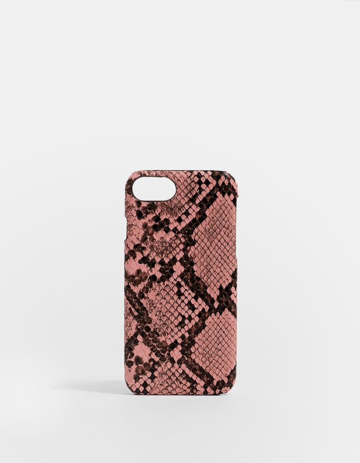 Snakeskin print iPhone 6/7/8 case