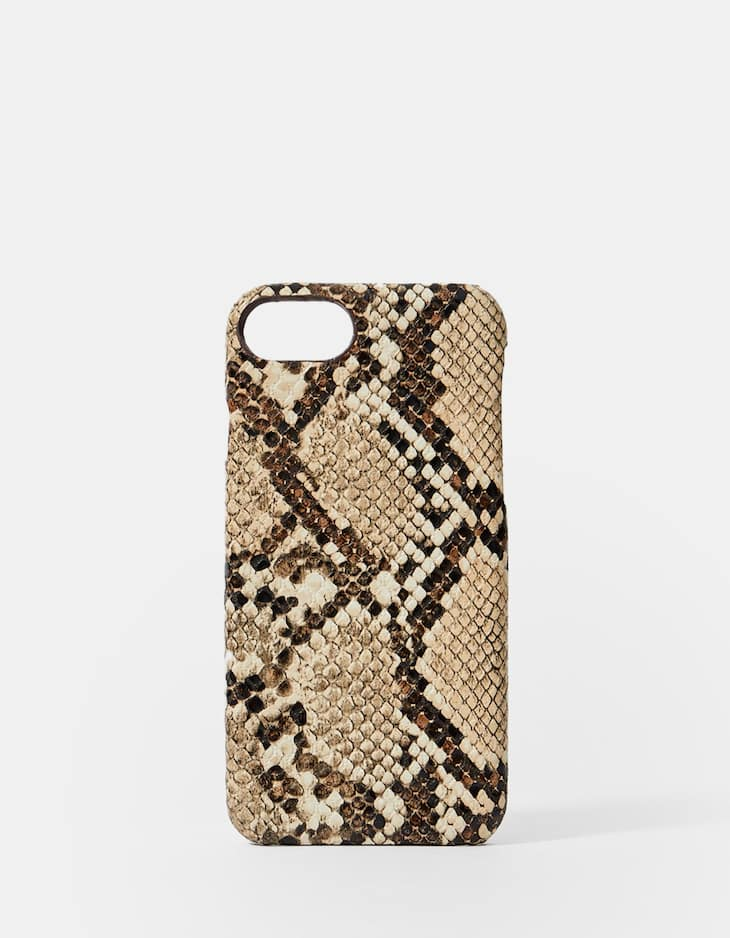 Snakeskin print iPhone 6/7/8 Plus case
