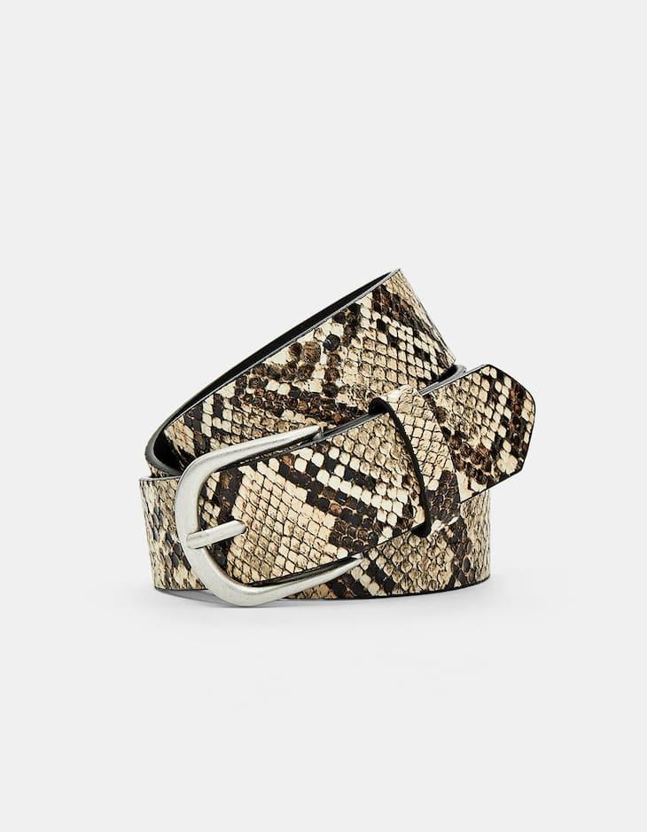 Cinturó bàsic snake
