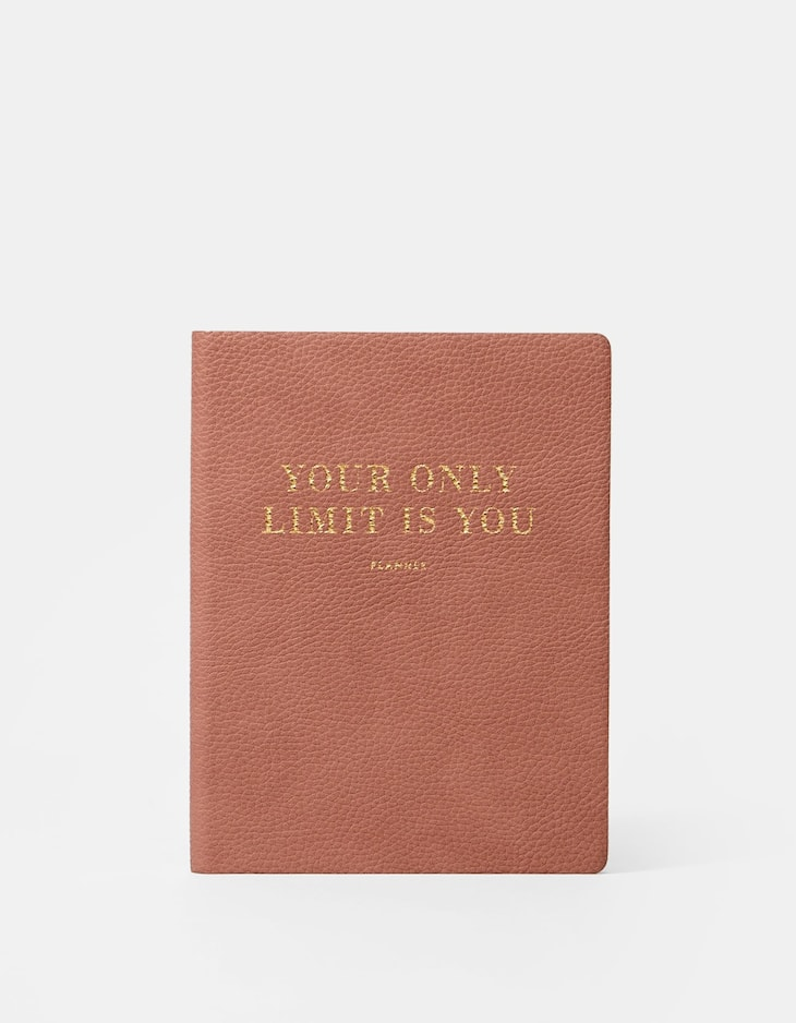 M eco-leather planner