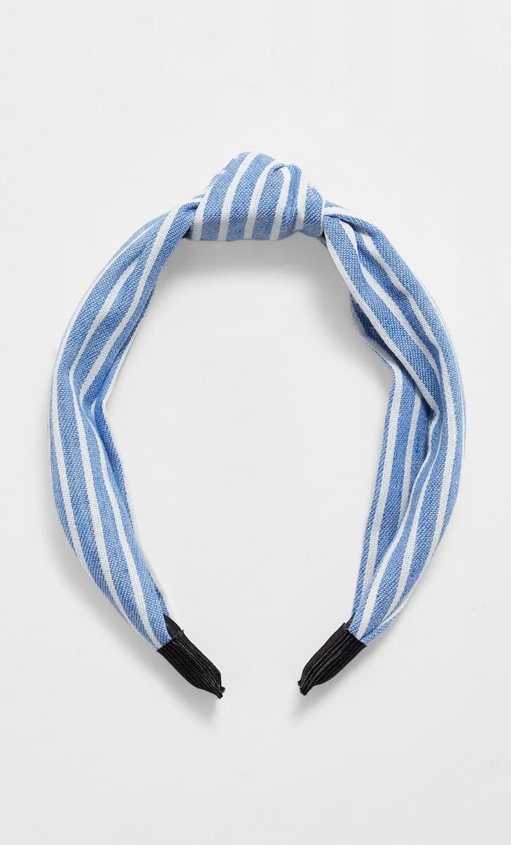 STR sailor stripe rigid headband