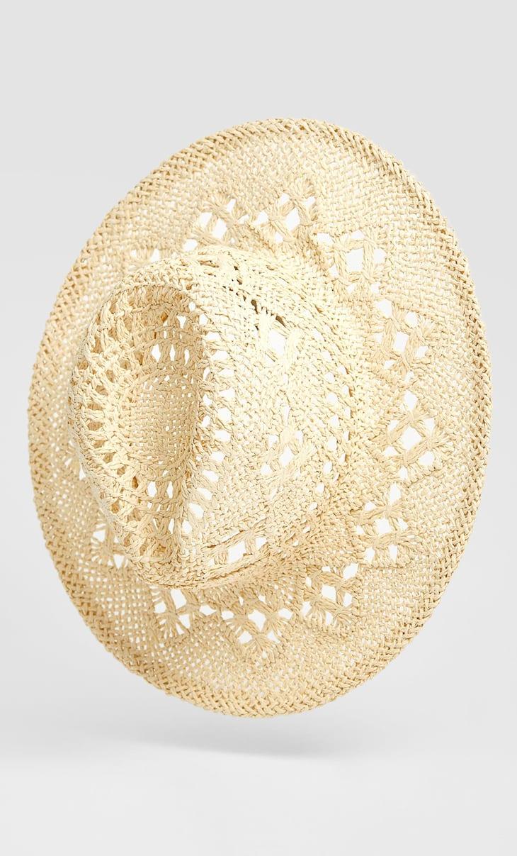 Pălărie Panama realizată manual