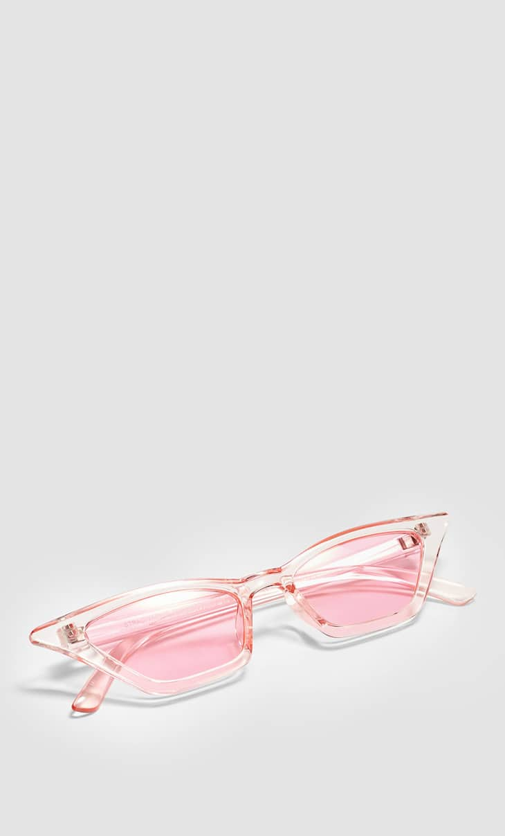 Gafas cat eye color