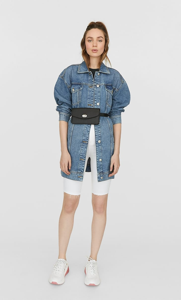 Super oversized denim jacket