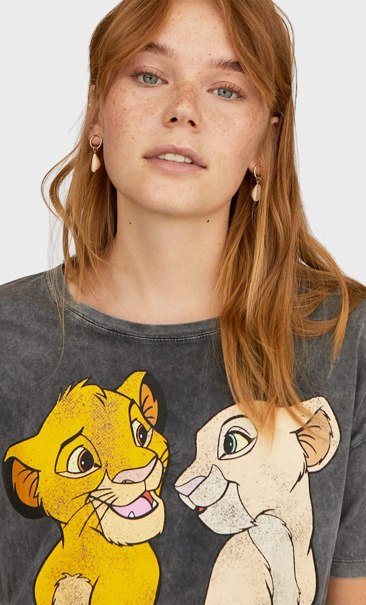 T-shirt Disney Roi Lion