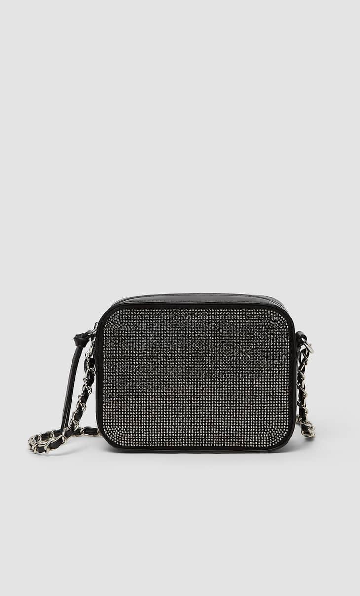 Bejewelled crossbody bag