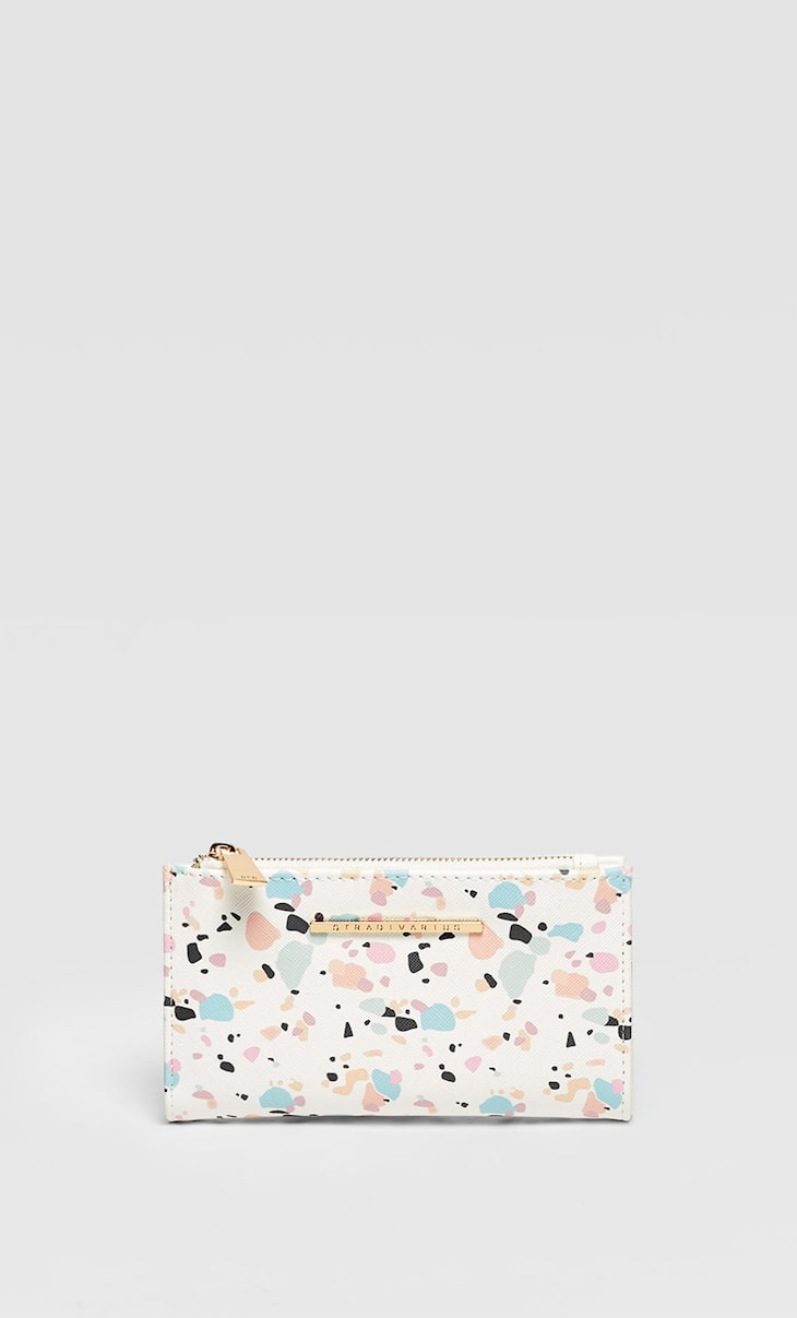 Basic printed purse
