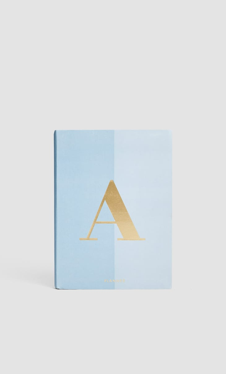 Letter A planner