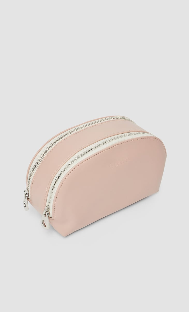 Rubber toiletry bag