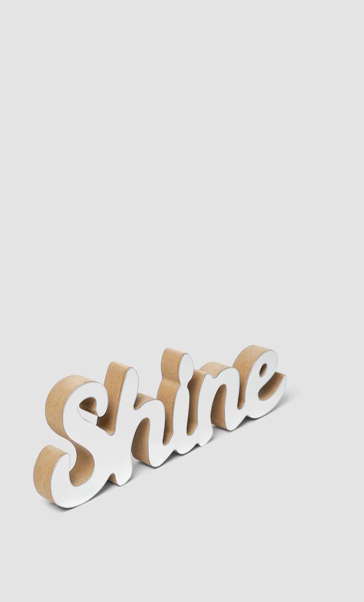 Wanddeko Shine